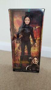 Hunger games Katniss Black Label Barbie Collection Mocking Jay Part 2