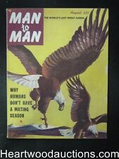 Man to Man Aug 1953 Ed McBain First App. , Boxing,  Bullfighting