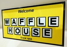 Waffle House fast food breakfast restaurant Sign