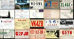 Amateur Radio Reception Reports QSL Cards Worldwide Select From List
