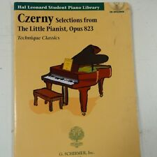piano CZERNY selections from the little pianist Op 823, technique classics + CD