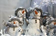 Winter Snow Xmas Vinyl Photography Backdrop Background Studio Props 7X5FT XJ111