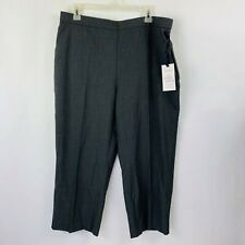 Croft & Barrow The Classic Pull On Straight Mid-Rise Pants Women's Size 16PS NWT