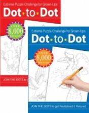 Dot to Dot Puzzle Book for adults / Teens  Animal Extreme Puzzle Challenge