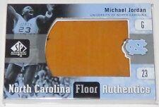 2011/12 Michael Jordan UNC Upper Deck SP Floor Authentics Game Used Card #UNC-MI