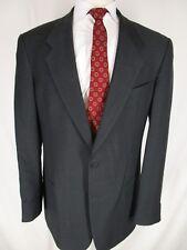 Armani Mani Mens Charcoal Nailhead 2 Btn Suit 42L