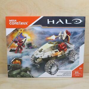 2016 Mega Bloks Construx Halo CTF Arctic Warthog Set 311 Pieces FDY52 - New