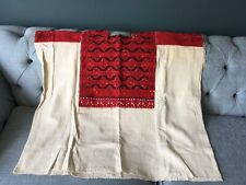 Collectors Huipil Mayan Guatemalan Embroidered blouse ~Vintage