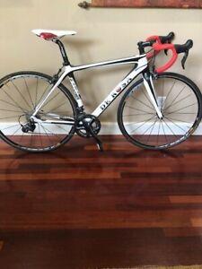 De RosaItalian Road Bike R838, 50-52 cm, full carbon frame, extremely light!