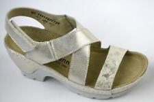Berkemann Damen Sandale Nara 01651-707 Gold Leder