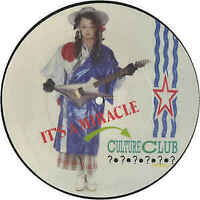 "Culture Club : It's A Miracle : 7"" Inch Vinyl : Picture Disc : Retro & Rare"