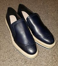 Zara Trafaluc Blue Platform Shoes (Size: 8) New w/Tags