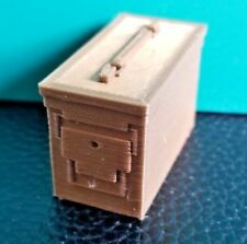 RC 1/10 Scale Copper Ammo Can Box Bullet Rock Crawler Doll Miniature Accessories