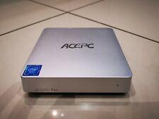ACEPC T11 FANLESS MINI PC, 4K, Win 10, 4GB / 64GB, with wireless keyboard / mice