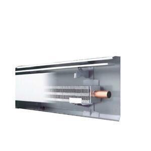 Slant/Fin Baseboard 30 6-Ft Hydronic Fully Assembled Element Enclosure White