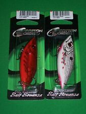 """Cordell Rattle Spot Rattle Trap - Red Crawdad & Wounded Shad 3"""" (2 Pk)"""