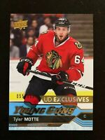 2016-17 Upper Deck Exclusives #216 Tyler Motte YG