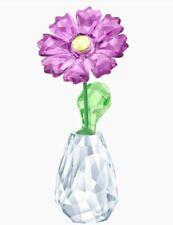 Authentic New in Box Swarovski Flower Dreams Gerbera Purple #5439225