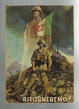 1942 Army PO Italy postcard cover to Catania Soldiers will return