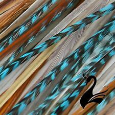 Feather Hair Extensions - Designer 3 Feathers - Torrance - Craft Millinery Fly F