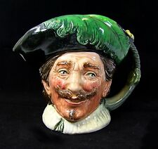 Royal Doulton Rare Large Character Jug The Cavalier (with goatee) D6114.