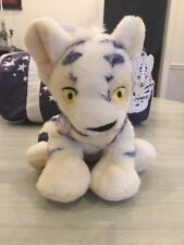 """2002 Limited Edition White Kougra Neopets 10"""" Plush - Great Condition with Tag"""