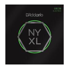 D'addario NYXL Nickel Wound, Extra Super Light, 08-38 (NYXL0838)