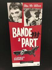 Bande à part di Jean-Luc Godard (ediz. rest. 2018) Locandina cm. 33x70