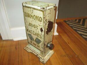 early MATCHBOX DIAMOND VENDING MACHINE  works.  no reserve