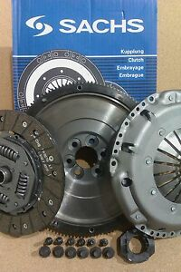 VW CADDY 1.9 TDI BLS 2004 ON, NEW FLYWHEEL & NEW SACHS CLUTCH KIT WITH ALL BOLTS