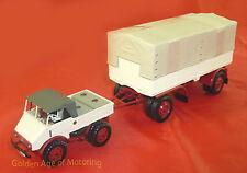 Minichamps 1:43 Mercedes-Benz Unimog 401 with trailer 499-030920