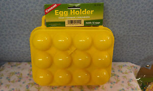 EGG HOLDER CONTAINER, EASY CARRY HANDLE, Clean, Compact, Unbreakable, HOLDS 12