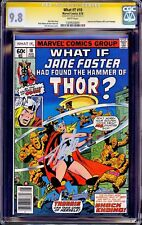WHAT IF #10 CGC 9.8 SS STAN LEE 1ST JANE FOSTER THOR JOURNEY INTO MYSTERY 83 NM