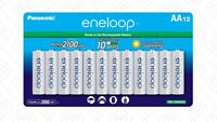 Panasonic Eneloop AA (BK-3MCCA12BA) Ni-MH Rechargeable Batteries (12 Pack)