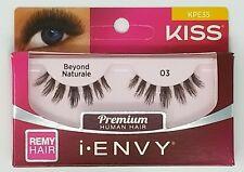 (LOT OF 3) I ENVY BY KISS Strip false eyelashe Black BEYOND NATURAL 03 KPE35