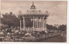 Band Stand Southend on Sea Essex Postcard, B669