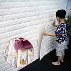 3D Wall Sticker Wall Brick Pattern Self-adhesive Wallpaper Decorative Waterproof