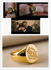 Kingsman: The Secret Service - Brass Signet Kingsman Ring Titanium Gift ring