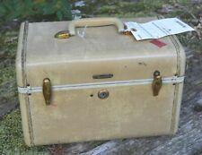 Vintage Samsonite Travel Train Case w/ org Amtrak tag still attached
