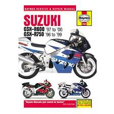 Suzuki GSX-R Motorcycle Service & Repair Manuals