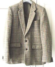 HARRIS TWEED - Traditional Check Tweed Jacket - Sz 40 -Spean Bridge Woollen Mill
