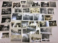75+ Vintage 1920's Lot of Photographs Bozetta School RCA Building People Fashion