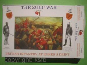 1:32 Figuren Call to Arms #07 Kolonialkrieg England Soldaten Rorkes Drift Zulu