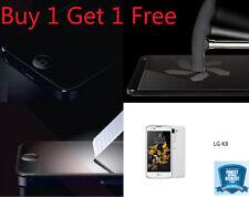 Films protecteurs d'écran LG K8 anti-rayures pour téléphone mobile et assistant personnel (PDA) LG