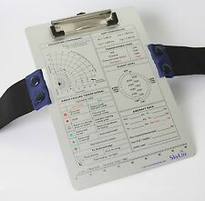 SkyLite VFR/IFR Aviation Aluminium Kneeboard For Pilot / student Pilot