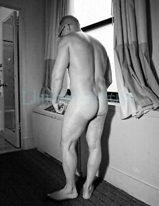 Handsome Male Nude Physique Original Photo Signed Limited Edition 8.5x11 1.21