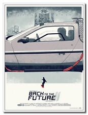 "Back To The Future 2 12""x8"" Classic Movie Silk Poster Wall Decoration"