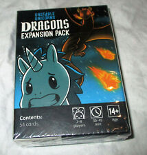Unstable Unicorns Dragons Expansion Set 54 Cards New In Box!