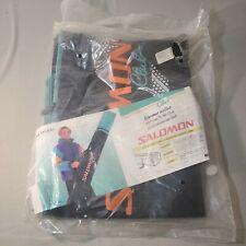 Vintage 90s Salomon Club Ski Bag Black Green New in Package