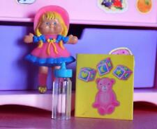 Barbie Little kelly Rag Doll Book Toys fits Fisher Price Loving Family Dollhouse